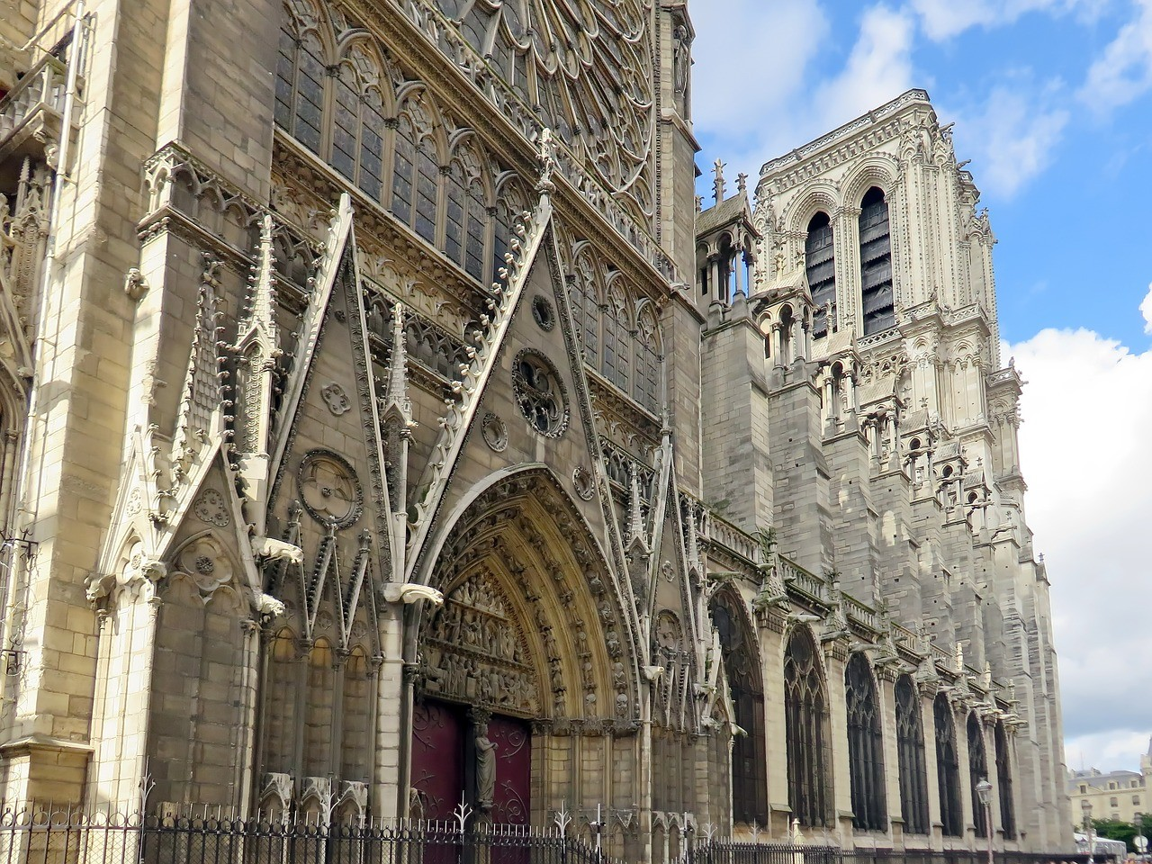 Собор Парижской Богоматери Нотр-Дам, париж