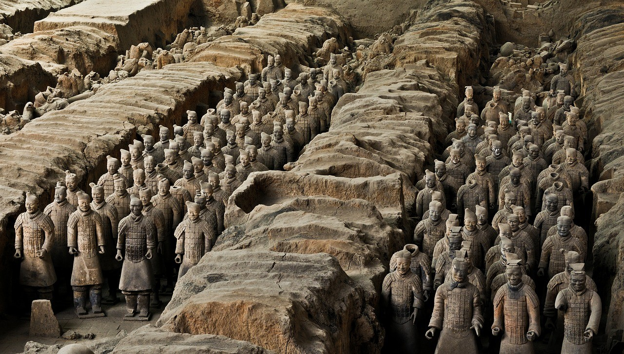 Терракотовая армия, Сиань, Китай