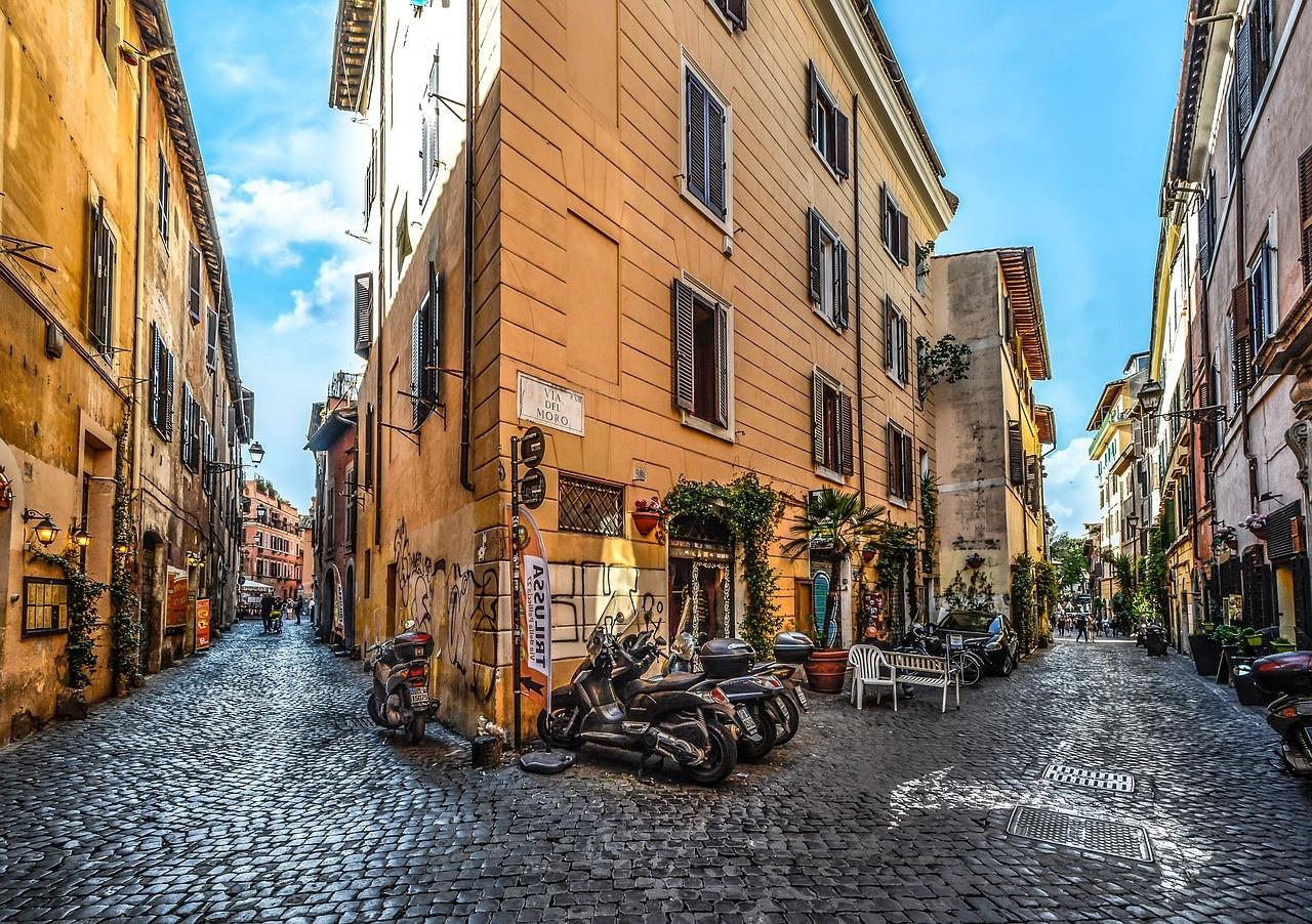 Trastevere, Трастевере, Рим, Италия