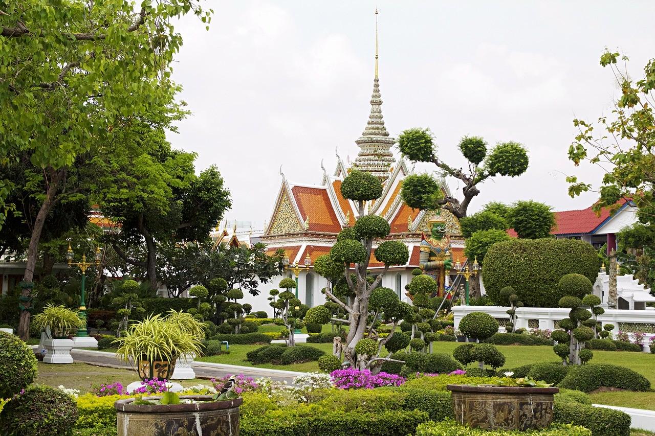 Ват Арун а Бангкоке, Таиланд