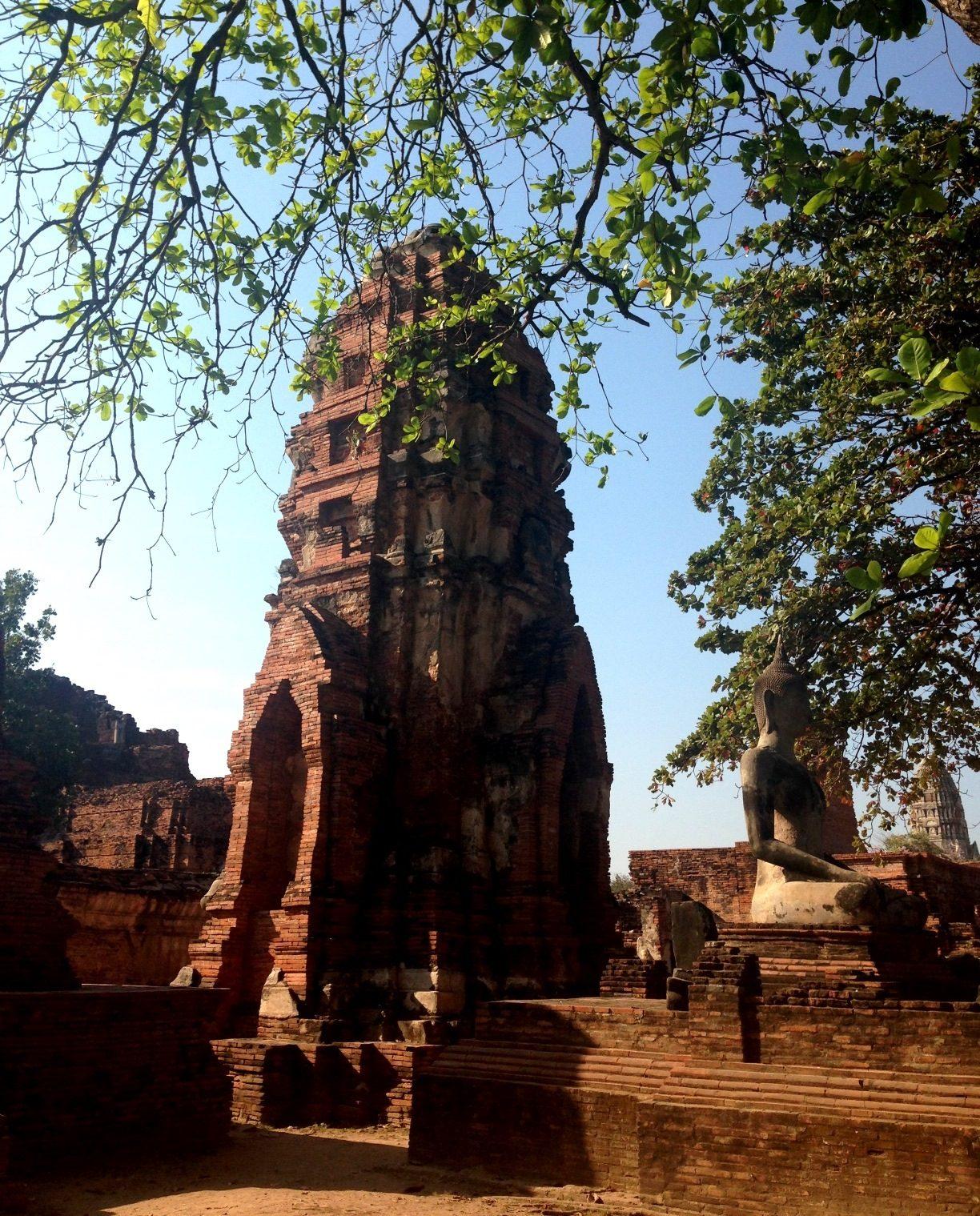 Ват Махаттат в Аюттайе, Тайланд