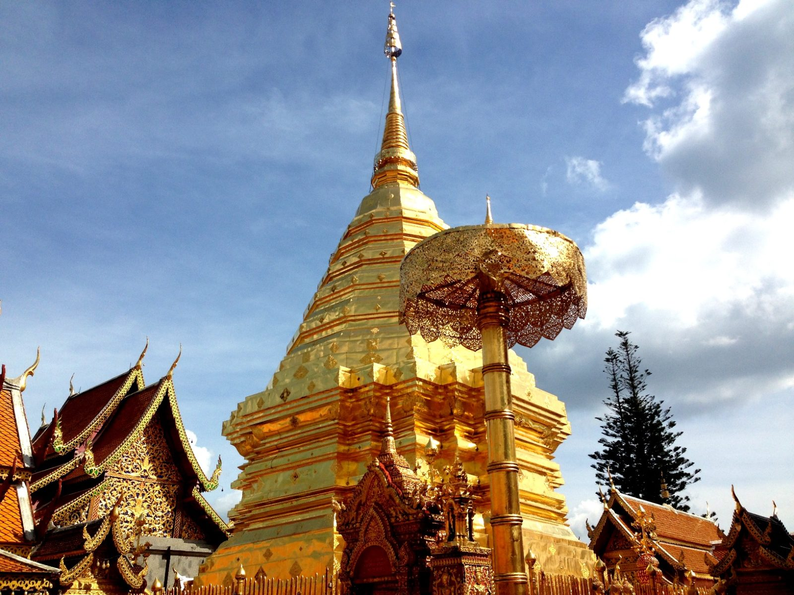 Ват Пхра Дой Сутхеп в Чианг Мае, Таиланд