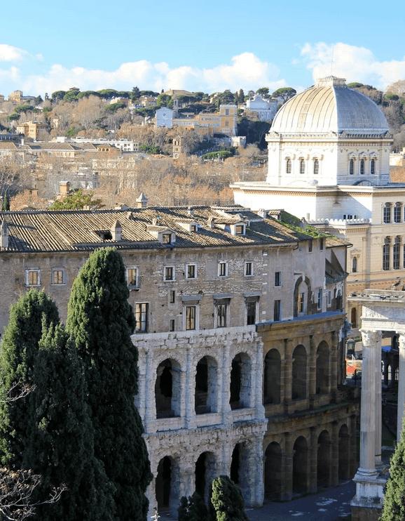 Вид с Авентин Хилл, Рим, Италия
