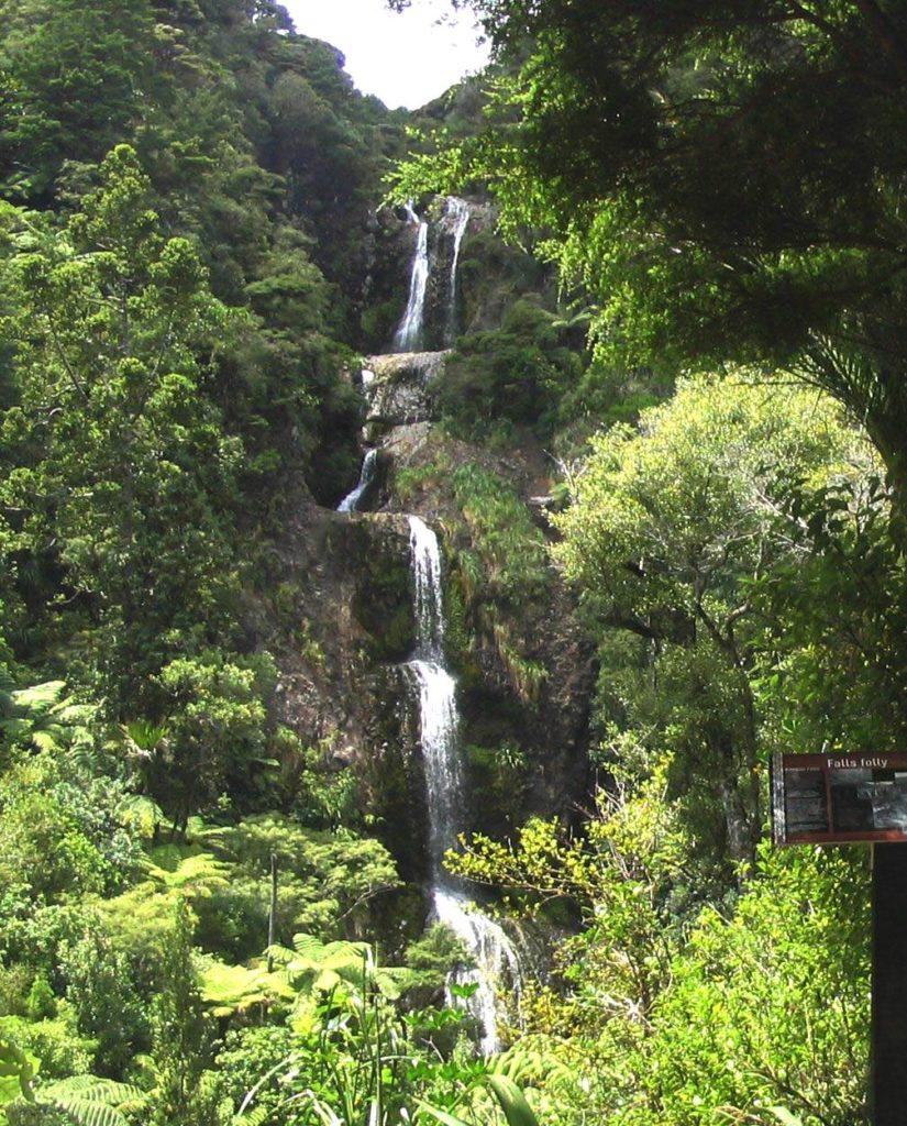 Водопад Китеките, Новая Зеландия