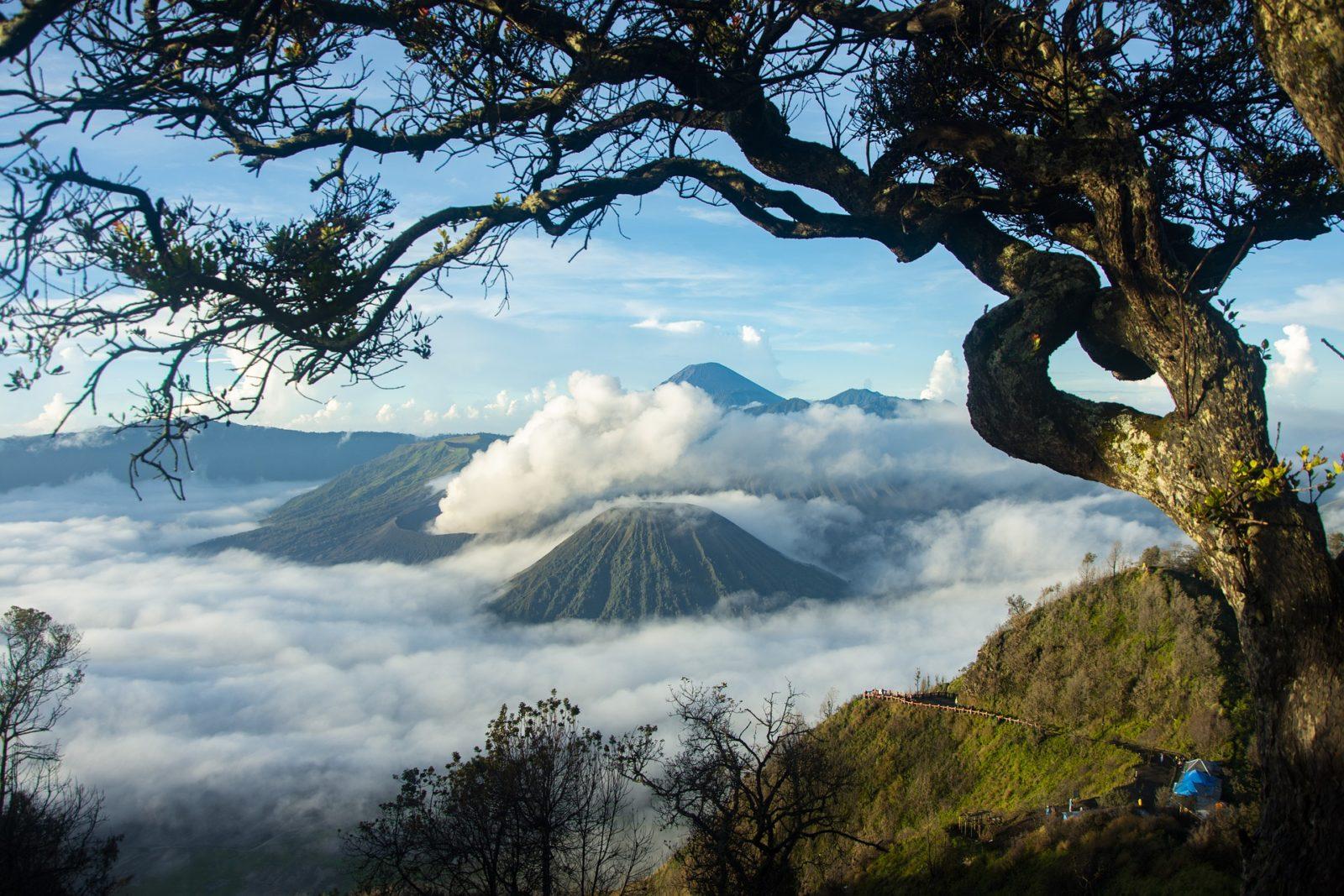 Вулкан Бромо, Климат в Индонезии