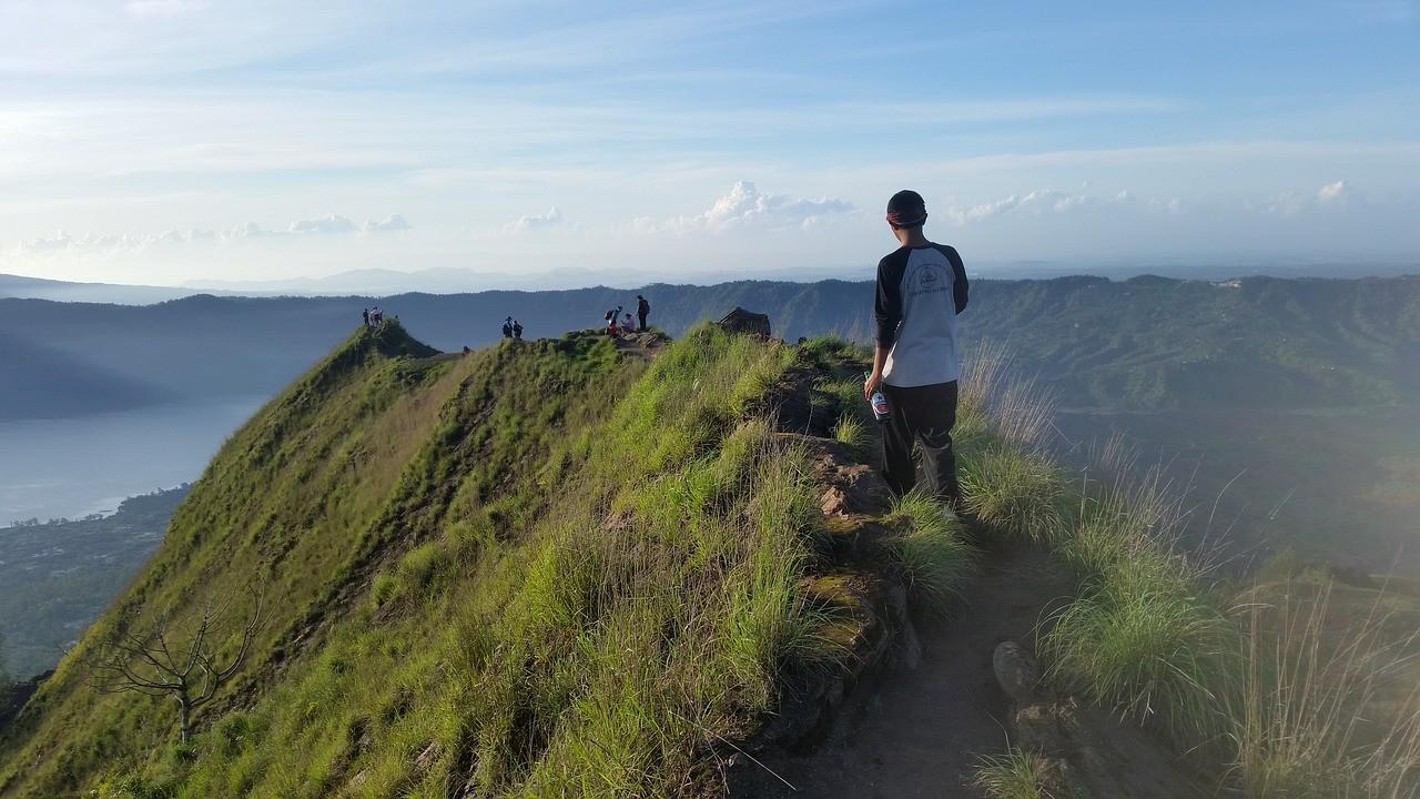 Вулкан на Бали, Индонезия