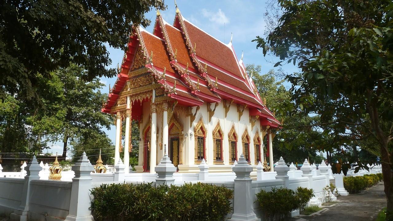 Wat Ta Nod Luang в городе Хуахин, Таиланд