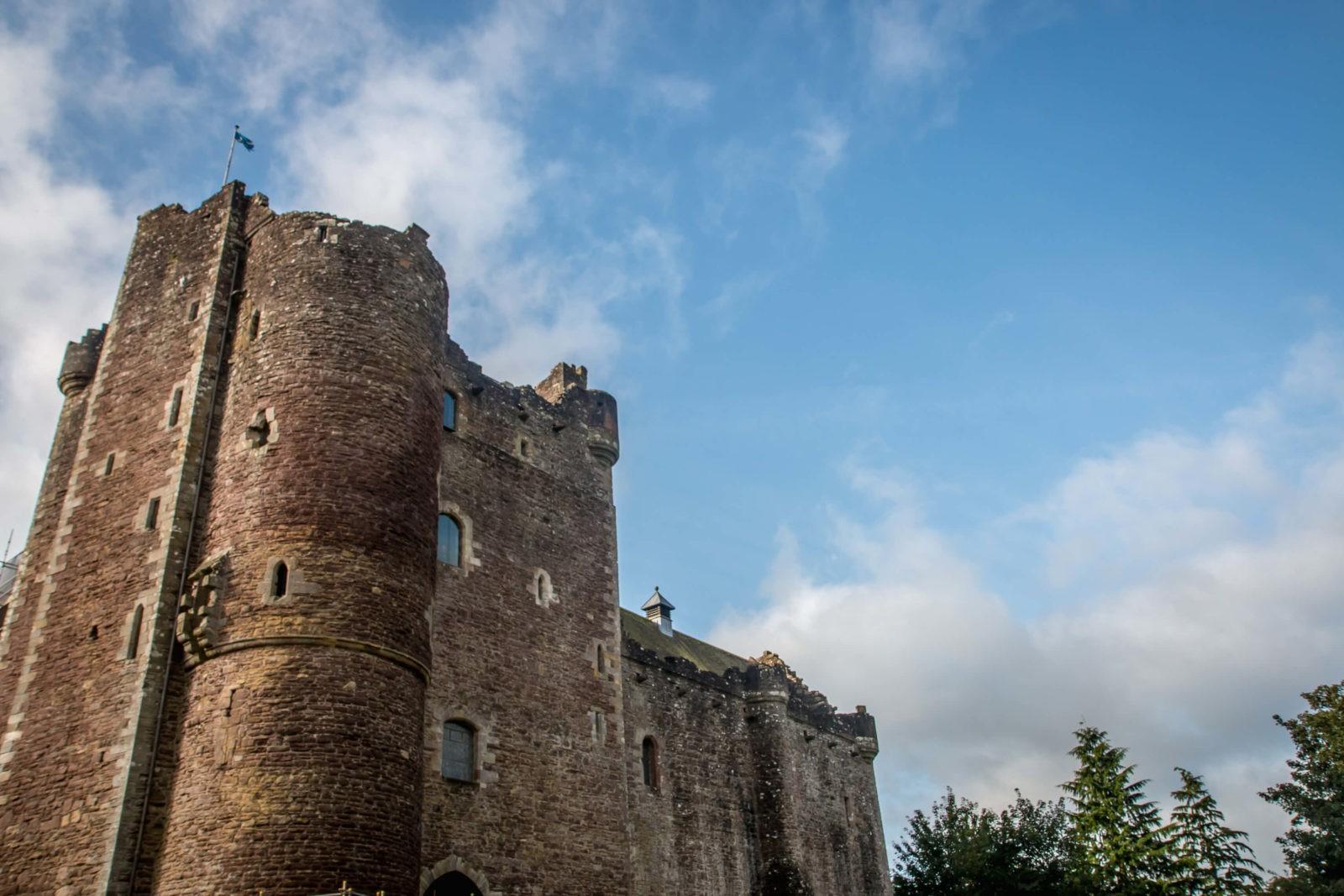 Замок Дун (Doune Castle), Шотландия