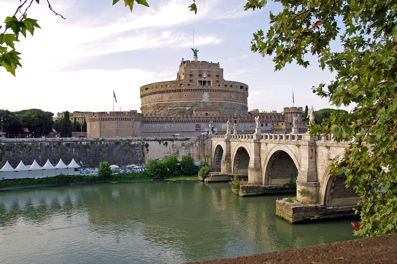 Замок Святого Ангела, Рим, Италия