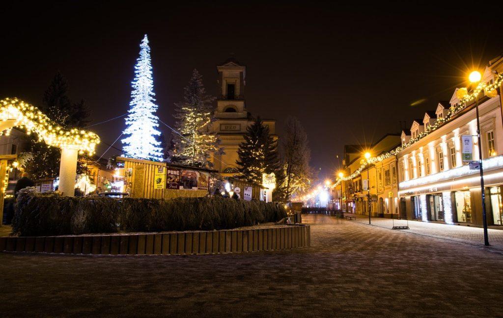 Рождество в Братиславе, Словакия