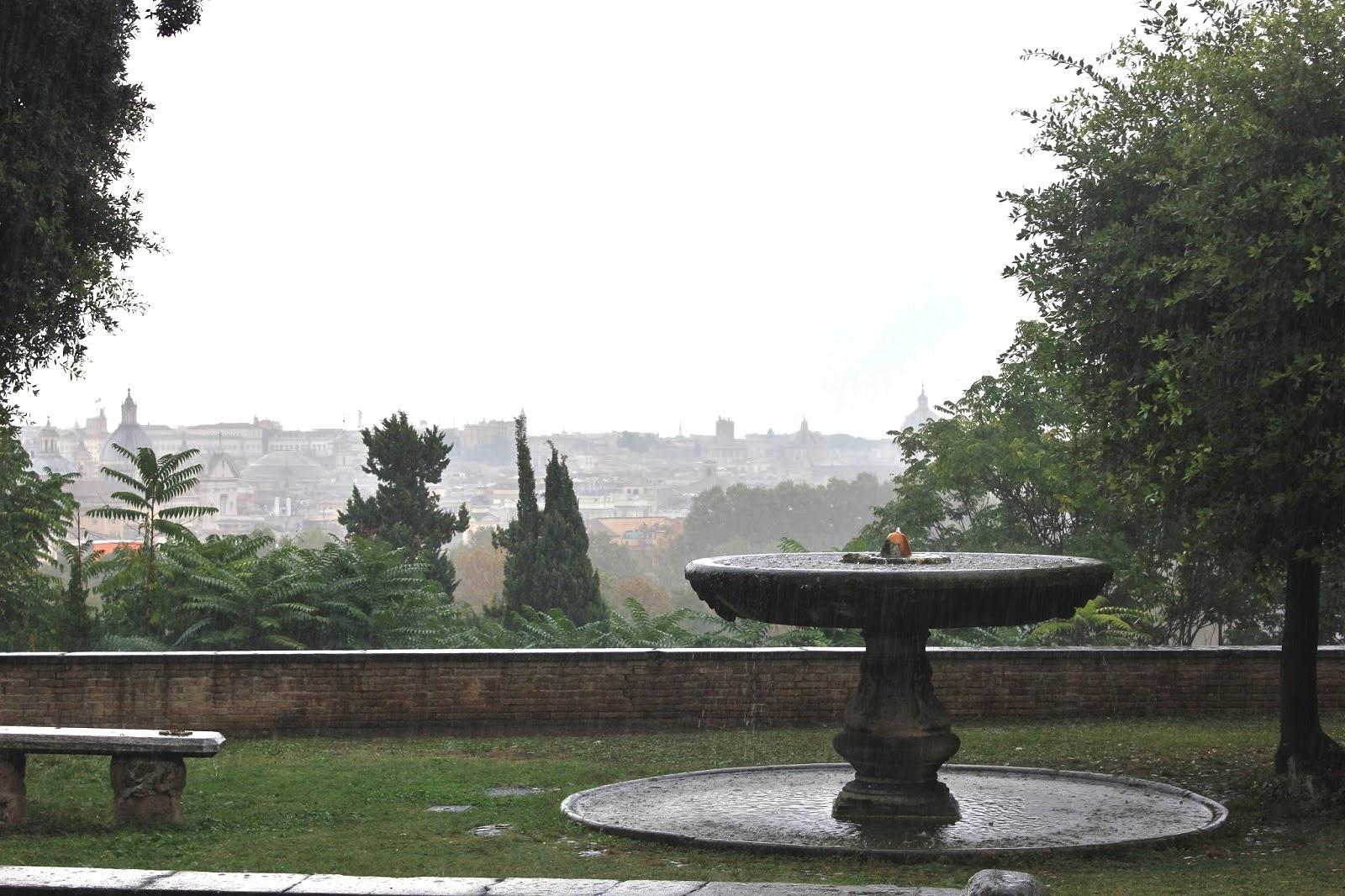 холм Яникул, Рим, Италия