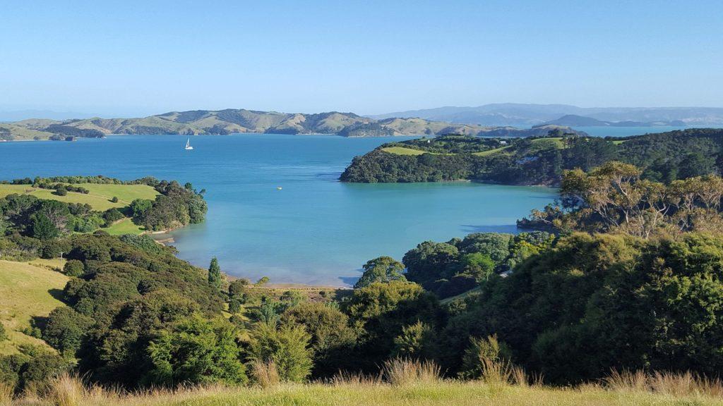 острове Вайхеке, Новая Зеландия