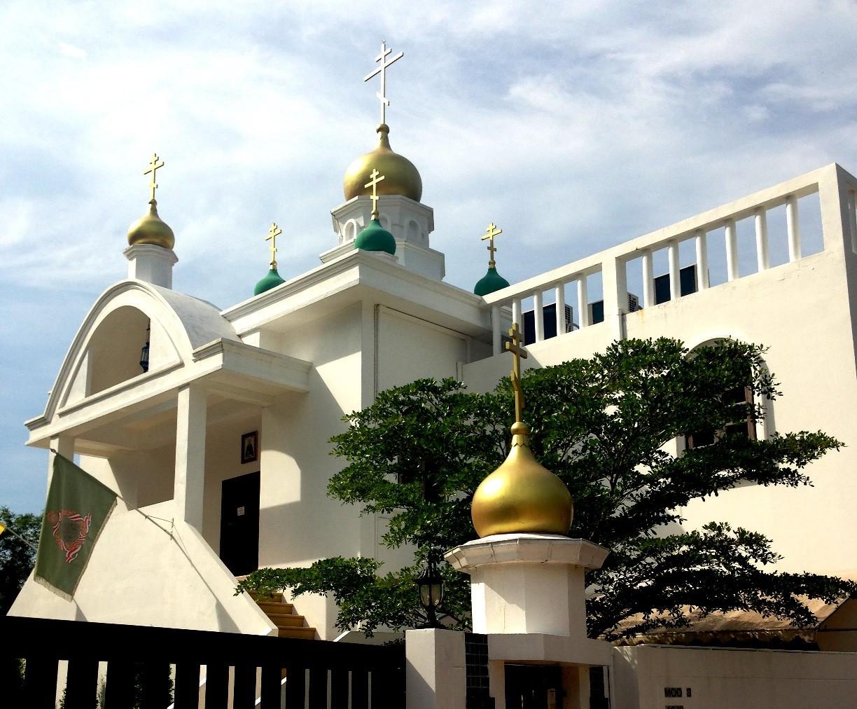 православная церковь на острове Ко Чанг, Таиланд