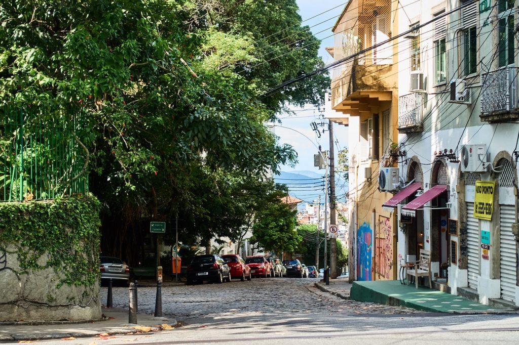 район Санта тереза, Рио де жанейро, Бразилия