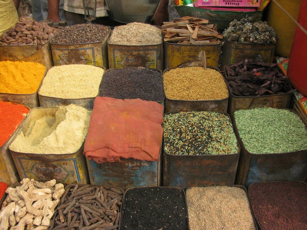 рынок Специй, Индия