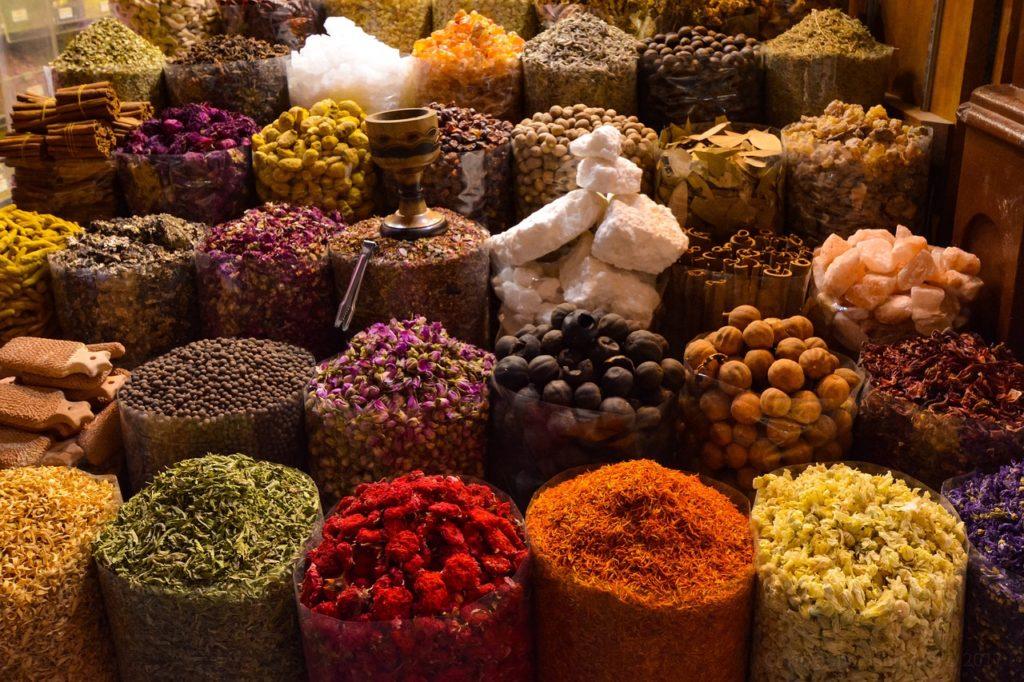 рынок специй, марокко