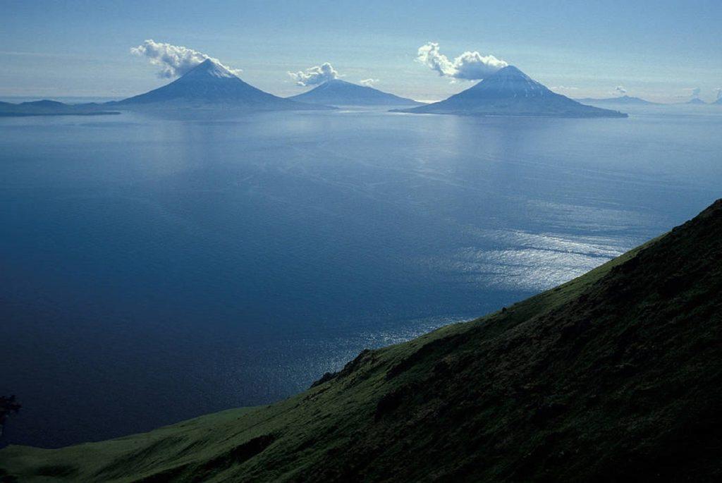 Алеутские острова, Аляска, США