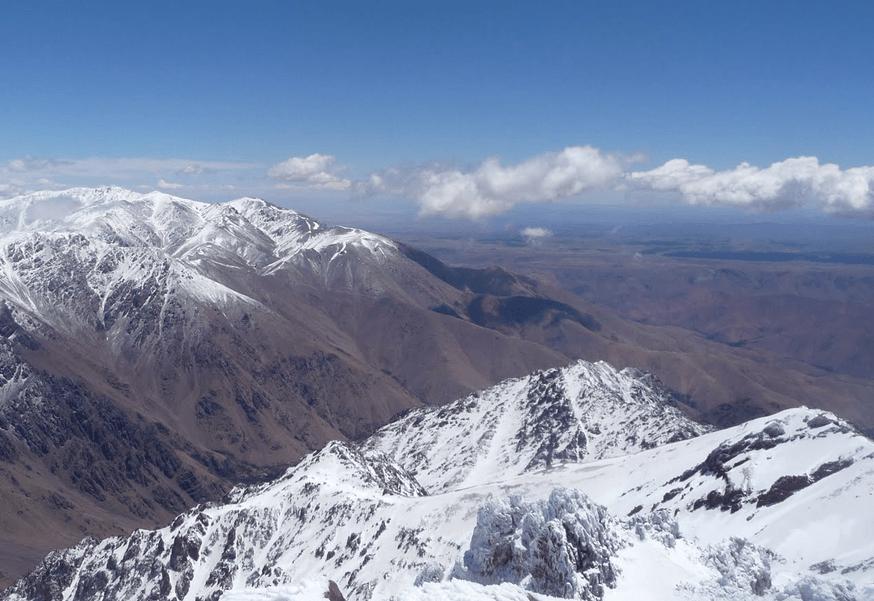Атласовы горы, Тубкаль, марокко