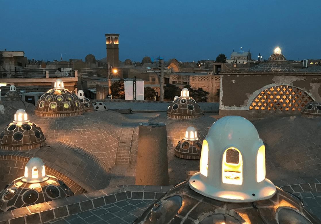 Баня султана Амира Ахмада, Кашан, Иран