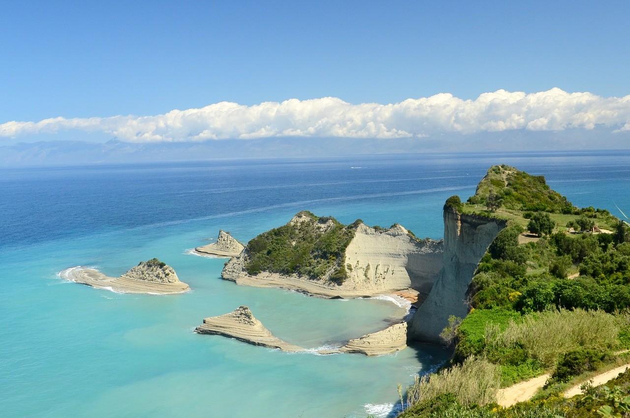 белые пляжи Греции, Корфу, песчаные пляжи Греции