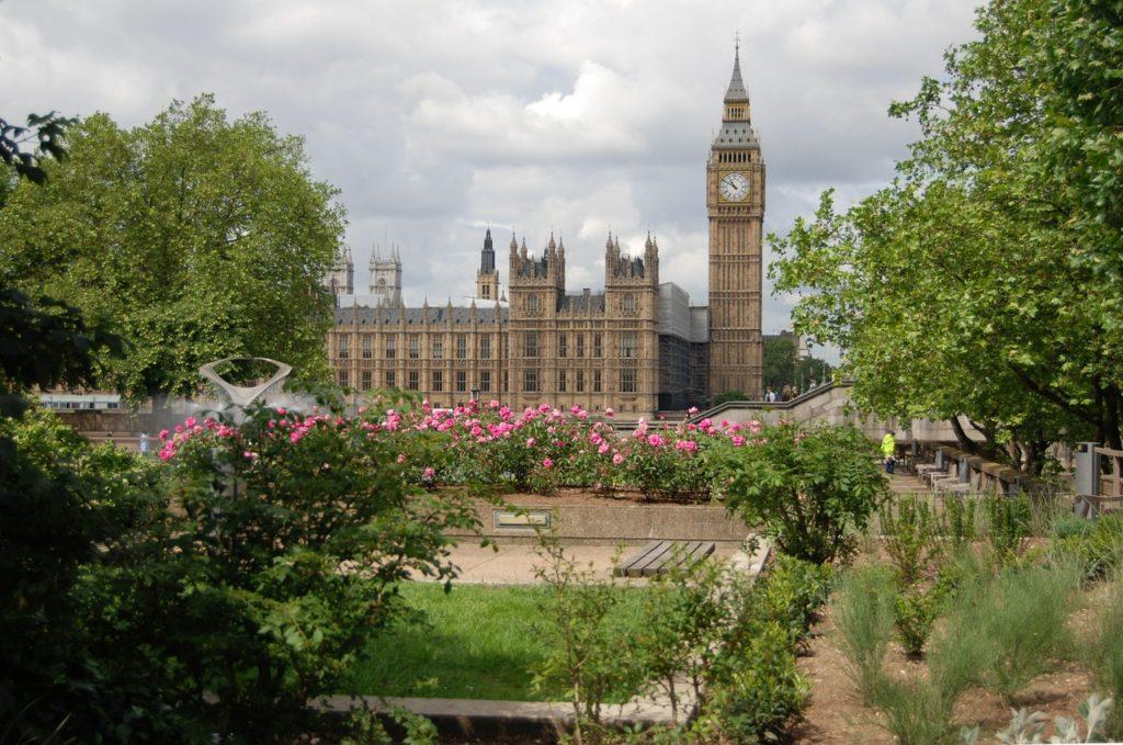 Биг бен, лондон, Великобритания