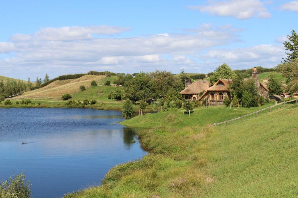 Деревня Хоббитон, Матамата, Новая Зеландия