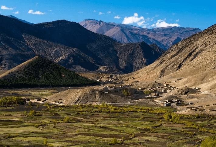 Долина Айт Бугемез, Марокко