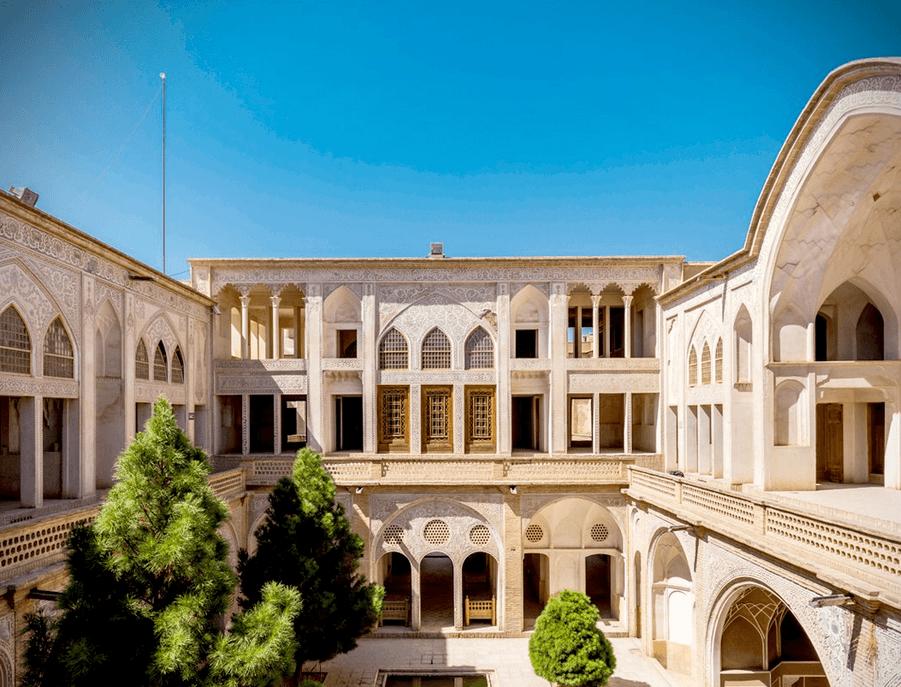 Дом Табатабай, Кашан,Иран