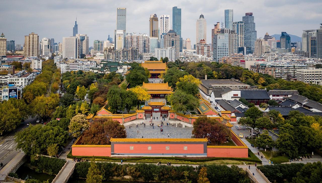 Дворец Цяотянь, Нанкин, Китай
