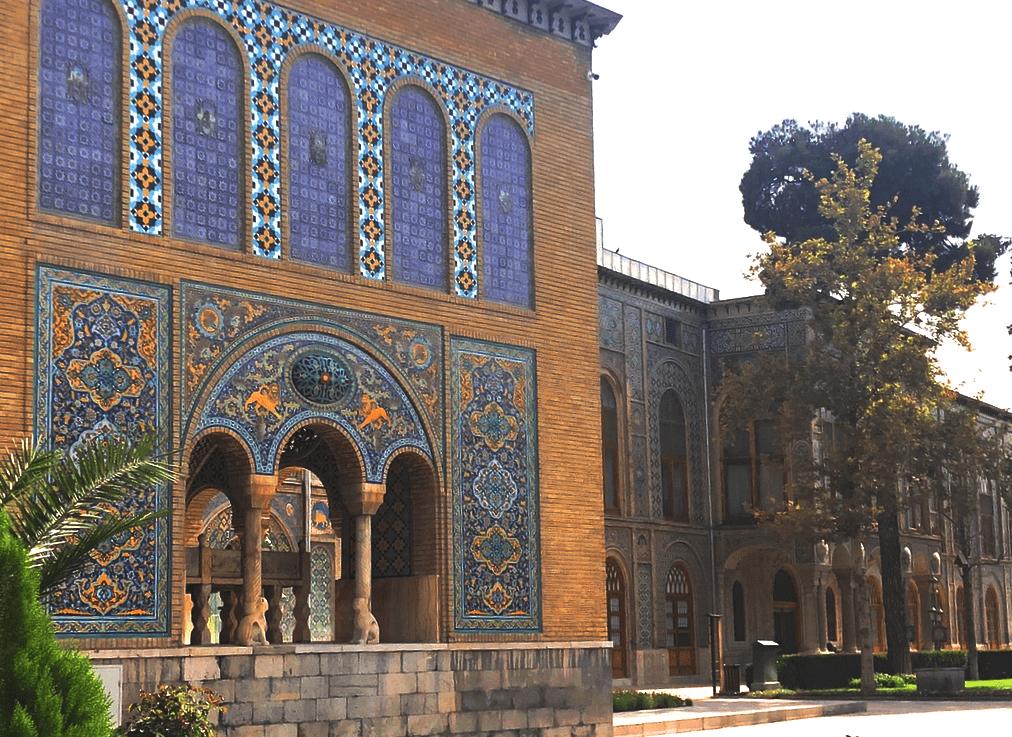 Дворец Голестан в Тегеране, Иран