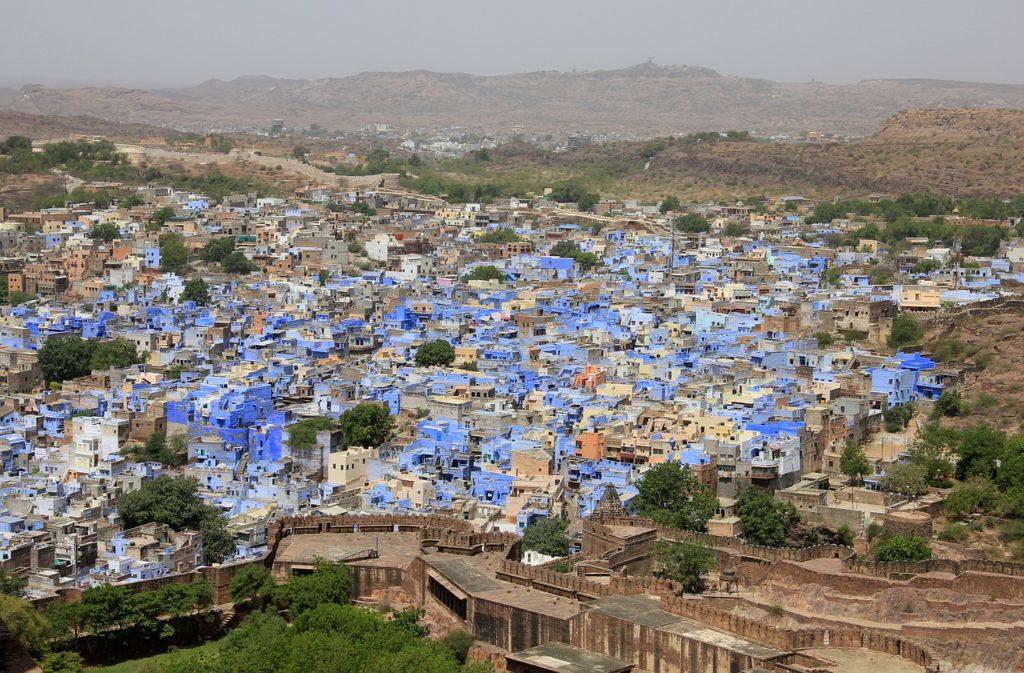 Джодхпур, голубой город в Индии