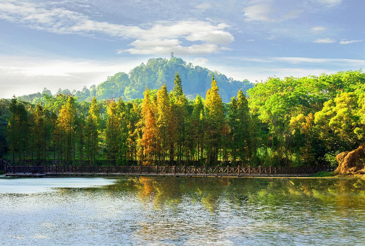 Гора Дафу, Гуанчжоу, Китай