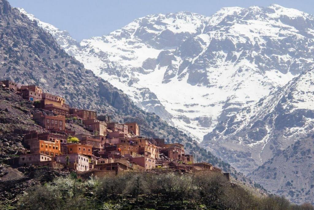 Гора Тубкаль , Марокко