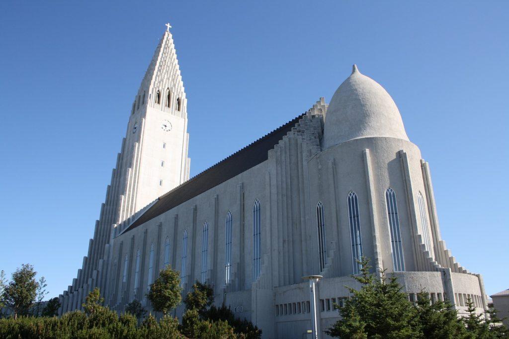 Халлгримскиркья, Рейкьявик, Исландия