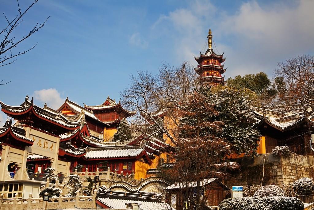 Храм Циминь, Нанкин, Китай