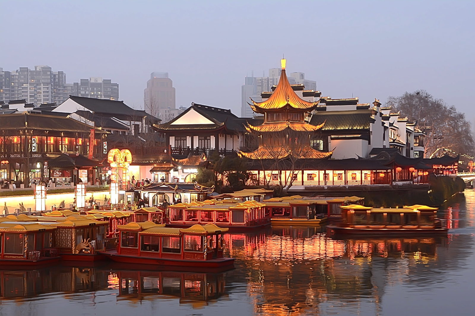 Храм Конфуция, Нанкин, Китай