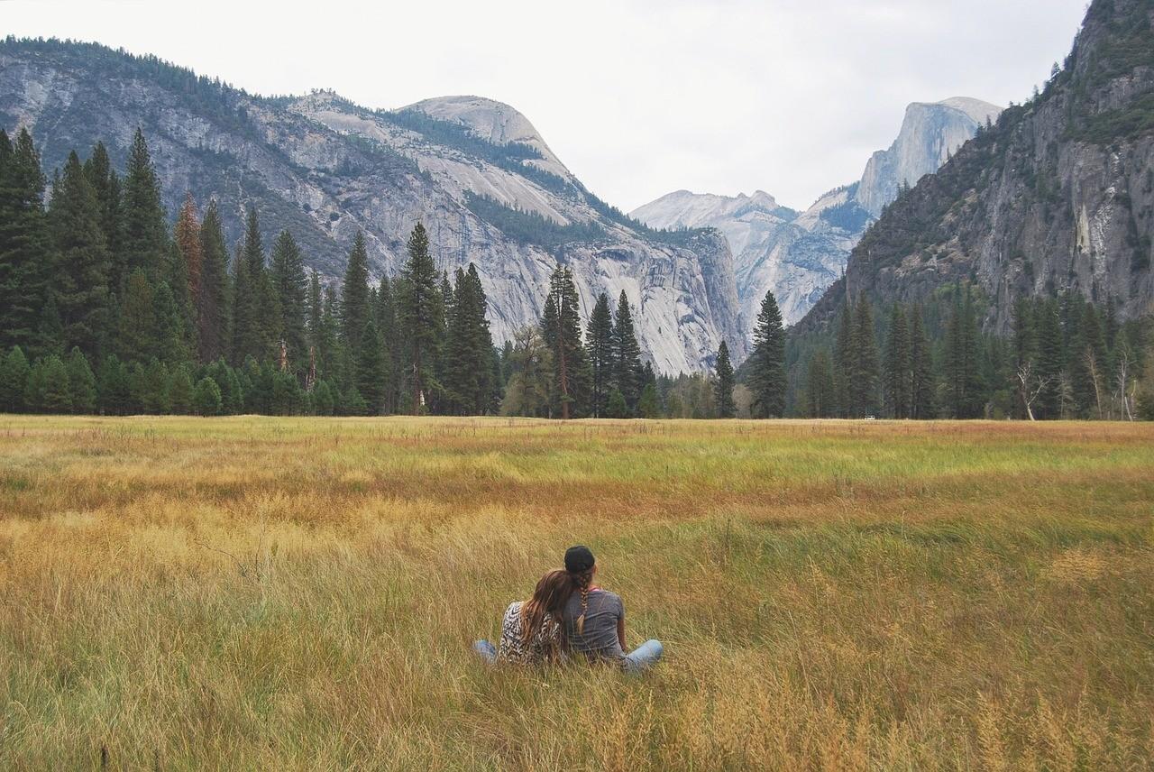 Йосемитский национальный парк, Калифорния, США, кэмпинг в Калифорнии