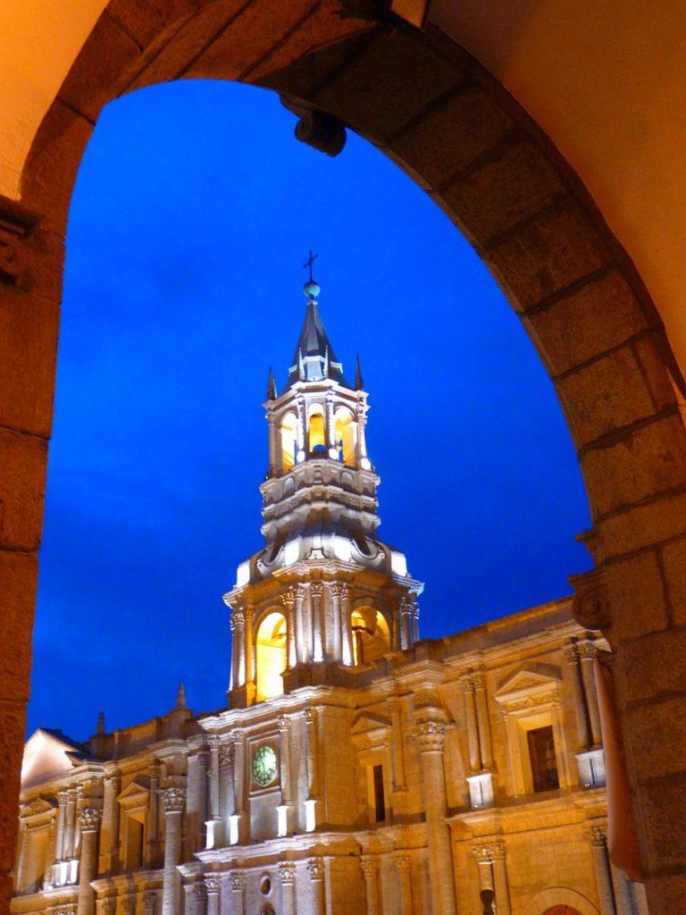 Кафедральный собор в Арекипа, Перу