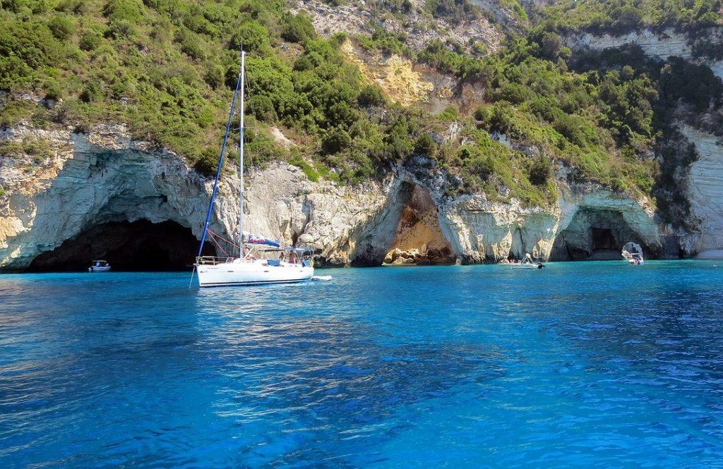 Канал Любви, Корфу, Греция