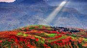 Красные почвы Дунчуаня, Куньмин, Китай
