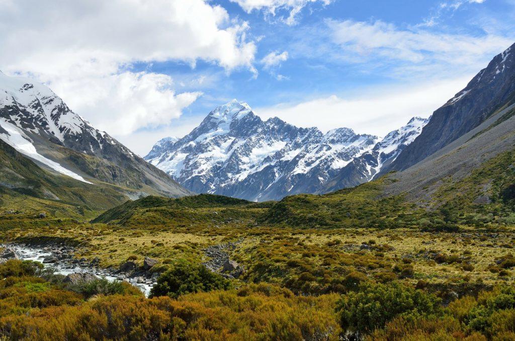 Маунт Кук, Новая Зеландия
