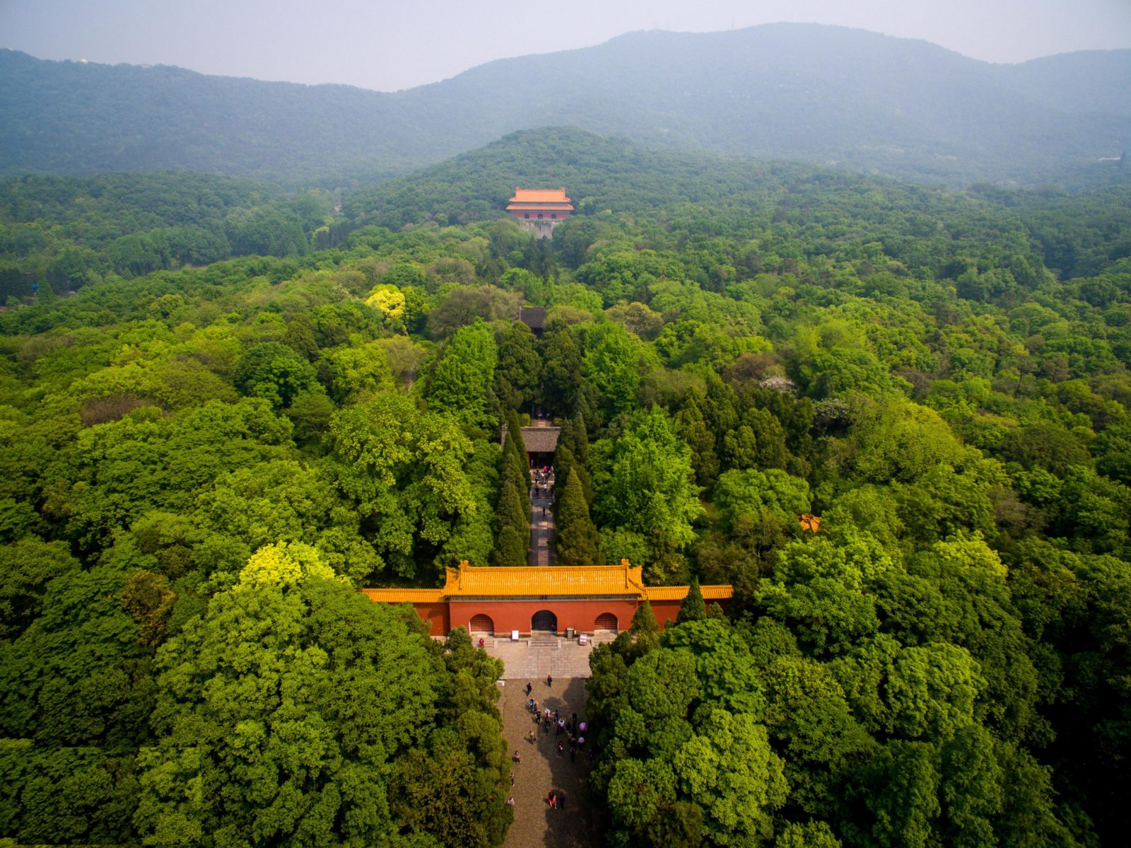 Мавзолей Мин Сяолин, нанкин, Китай