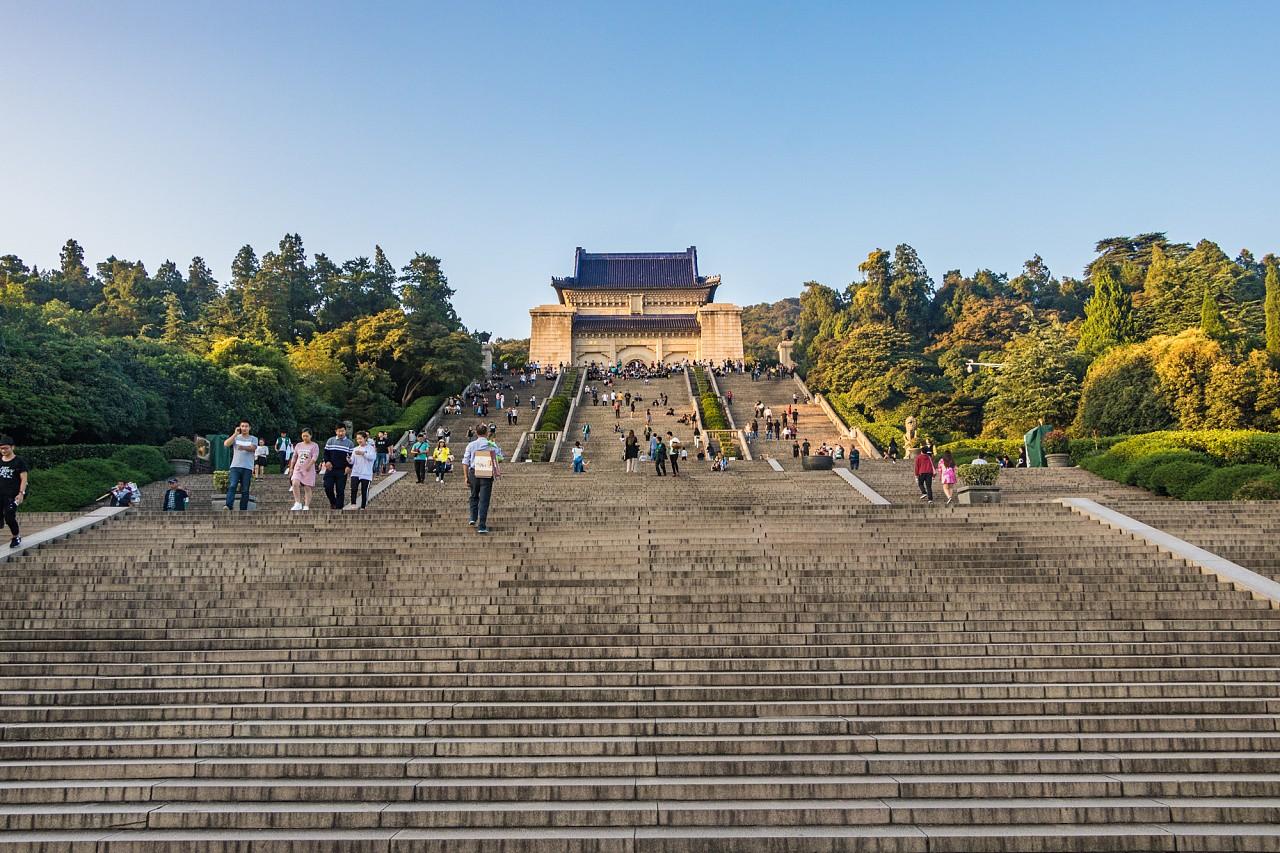 Мавзолей Сунь-Ятсена, Нанкин, Китай
