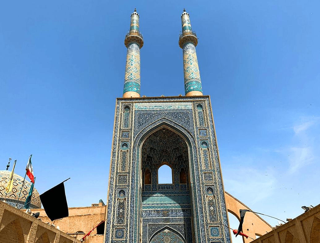 Мечеть Джамех, Йезд, Иран
