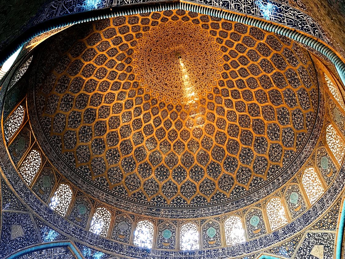 Мечеть шейха Лютфалль, Исфахан, Иран