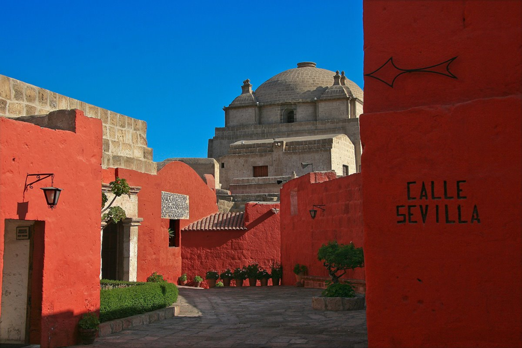 Монастырь Санта Католина, Арекипа, Перу