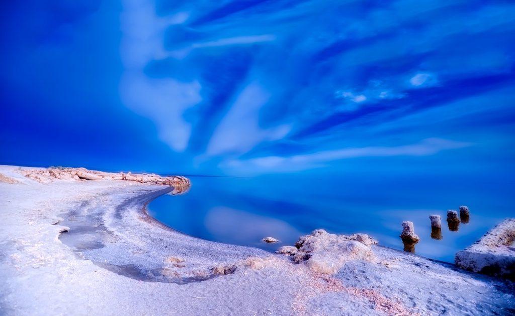 Море Солтона или Солтон-Си, Калифорния, США