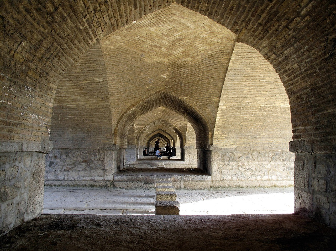 Мост Хаджу, Исфахан, Иран