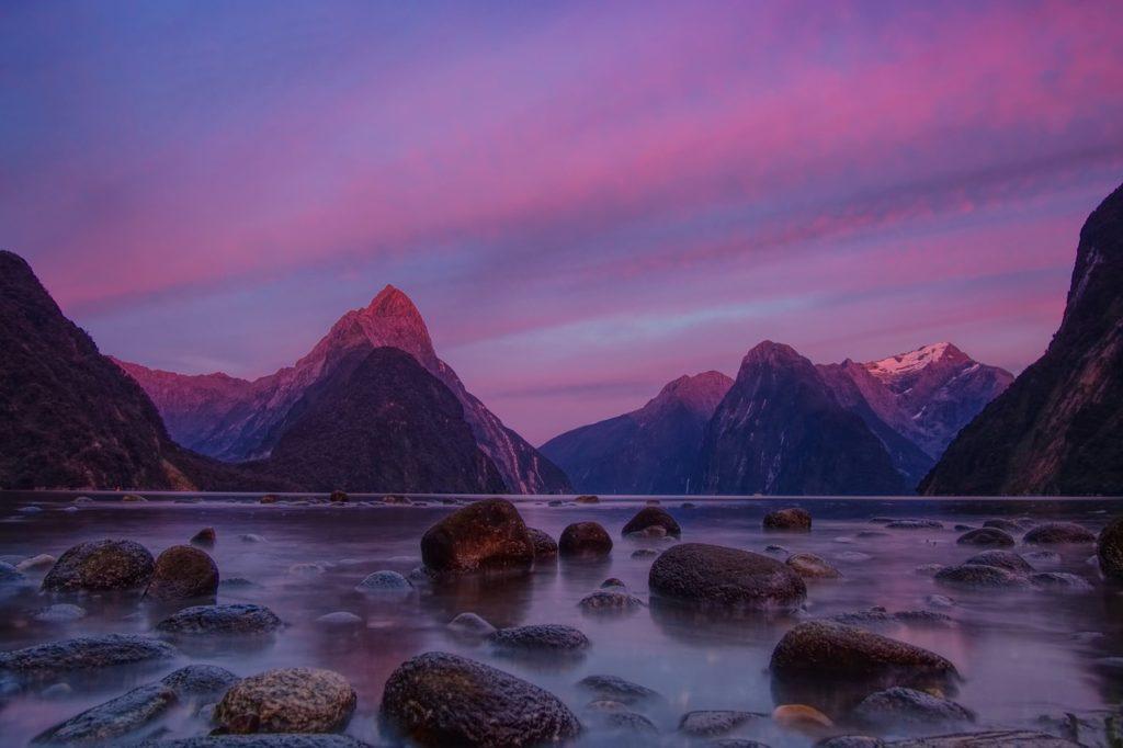 Национальный парк Фьордленд, Новая Зеландия
