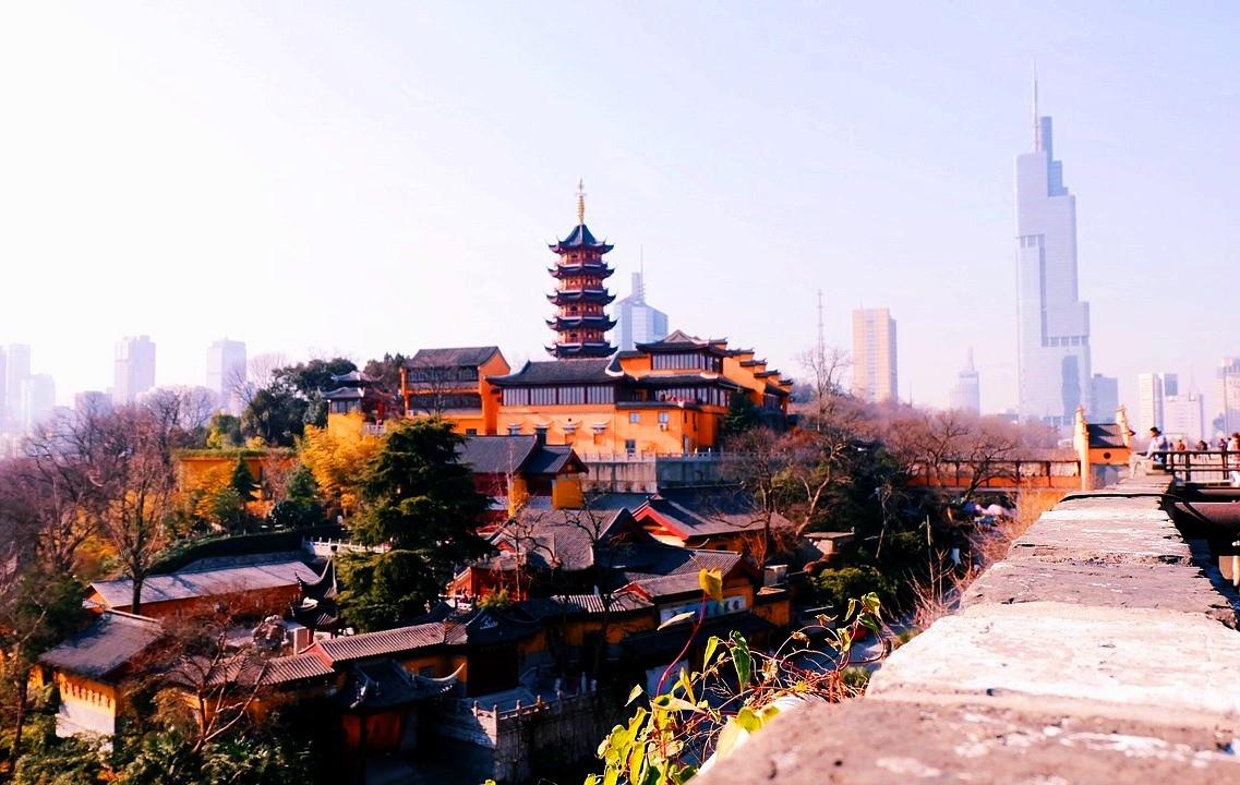 картинка фотография курорта Нанкин (Наньцзин) в Китае